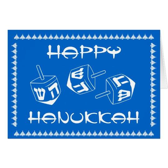 Happy Hanukkah Customizable Holiday Card
