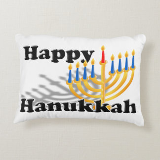 Happy Hanukkah Decorative Pillow
