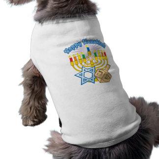 Happy Hanukkah Dog Tshirt