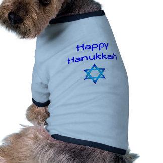 happy Hanukkah dog shirt