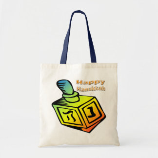 Happy Hanukkah - Dreidel Bag