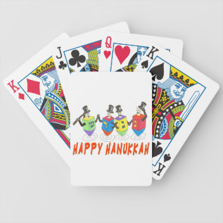 HAPPY HANUKKAH DREIDELS  DECK OF PLAYING CARDS