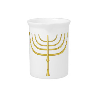 Happy Hanukkah Drink Pitcher