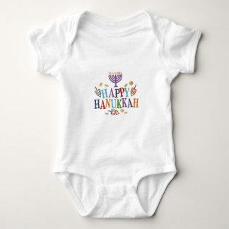 Happy Hanukkah Festive design Baby Bodysuit
