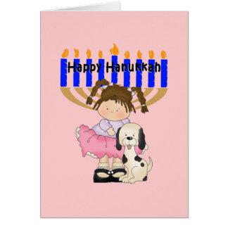 Happy Hanukkah Friends Card
