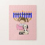 Happy Hanukkah Friends Jigsaw Puzzles