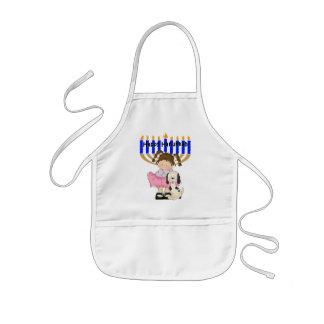 Happy Hanukkah Friends Kids' Apron