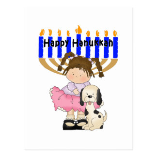 Happy Hanukkah Friends Postcard