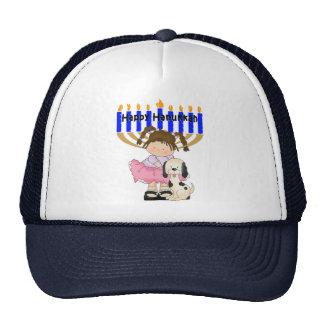 Happy Hanukkah Friends Trucker Hat