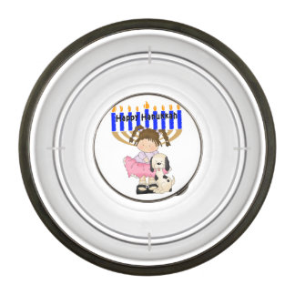 Happy Hanukkah Friends Pet Bowl