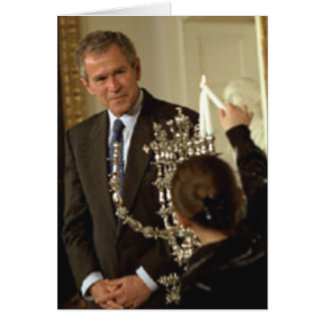 Happy Hanukkah from George W. Bush Card