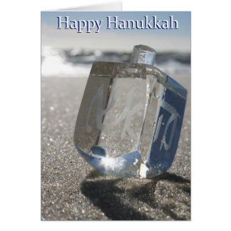 Happy Hanukkah from the Jersey Shore Greeting Card