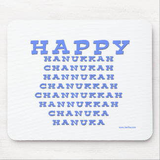 HAPPY HANUKKAH GIFT MOUSE PAD