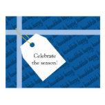 Happy Hanukkah Gift Postcard