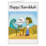 Happy Hanukkah Graeeting Card