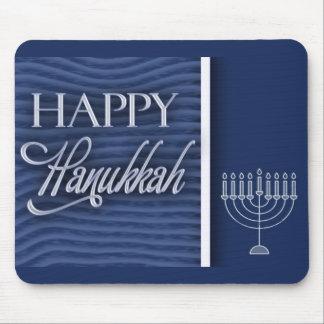 Happy Hanukkah Greeting Mouse Pad