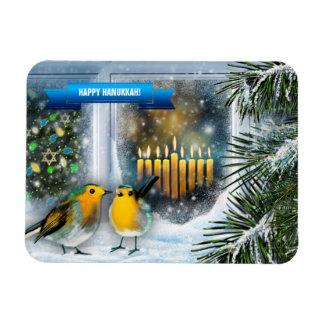 Happy Hanukkah. Hanukkah Gift Magnets