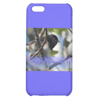 happy hanukkah happy chanukah bird junco case for iPhone 5C