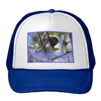 happy hanukkah happy chanukah bird junco trucker hat