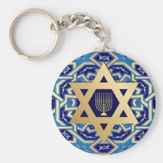 Happy Hanukkah / Happy Chanukah Gift Keychains