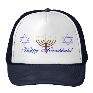 Happy Hanukkah Trucker Hat
