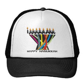Happy Hanukkah Mesh Hat