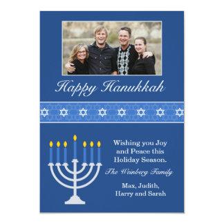 Happy Hanukkah Holiday Card