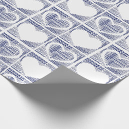 Happy Hanukkah Holiday Gift Wrapping Paper