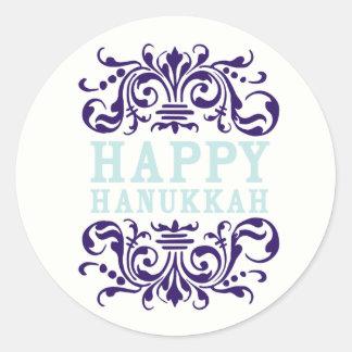 Happy Hanukkah Holiday Stickers