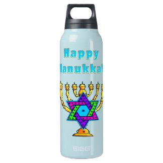 Happy Hanukkah Insulated Water Bottle