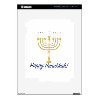 Happy Hanukkah iPad 3 Skin