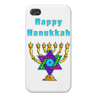 Happy Hanukkah iPhone 4/4S Case