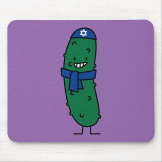 Happy Hanukkah Jewish Pickle Pickles Mouse Pad