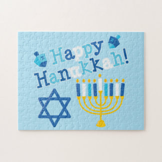 Happy Hanukkah Jigsaw Puzzle