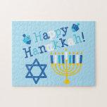 Happy Hanukkah Jigsaw Puzzles