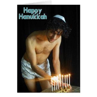 Happy Hanukkah - Jonah Card