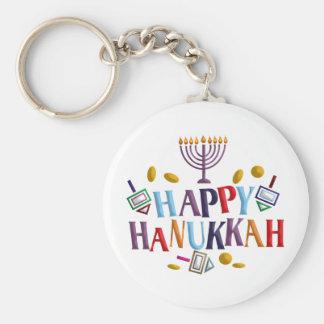 Happy Hanukkah Key Chains
