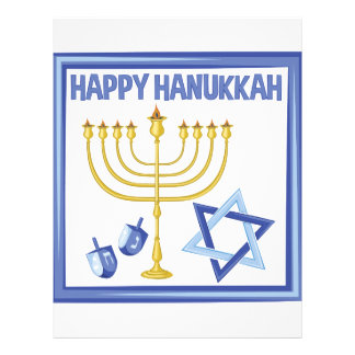 Happy Hanukkah Letterhead