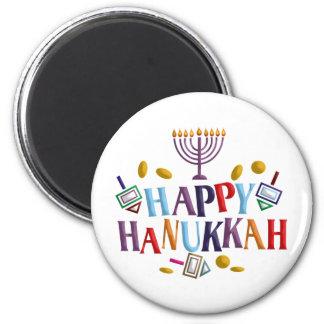 Happy Hanukkah Refrigerator Magnets