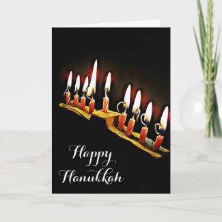 Happy Hanukkah May you Bless and Be Blessed Card
