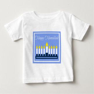 Happy Hanukkah Menorah Baby T-Shirt