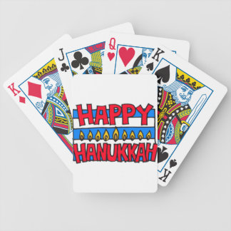 HAPPY HANUKKAH MENORAH DECK OF CARDS