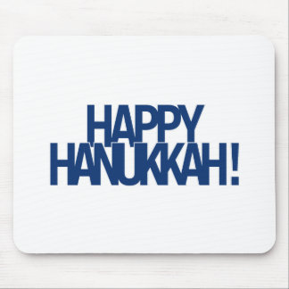 Happy Hanukkah! Mouse Pad