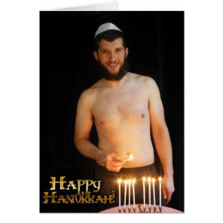 Happy Hanukkah - Noah (underwear) Card