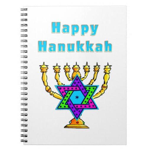 Happy Hanukkah Notebooks