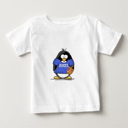 Happy Hanukkah Penguin Baby T-Shirt