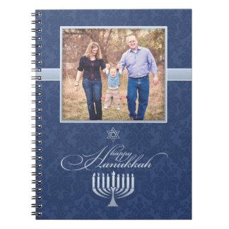 Happy Hanukkah Photo Notebook