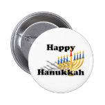 Happy Hanukkah Pinback Buttons