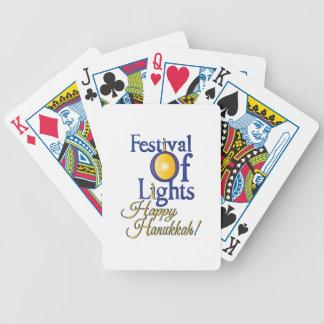 Happy Hanukkah Poker Cards