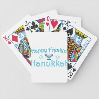 happy hanukkah deck of cards
